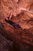 Nick McKinnon flashes the second ascent of Spinal Tap (23).