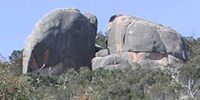 This is Gravel Pit Tor, one of the better outcrops in the very limited You Yangs park